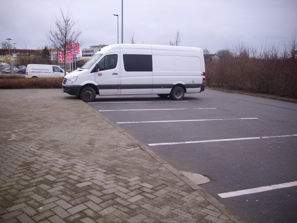 Ein Mercedes-Benz Sprinter in Bergen.