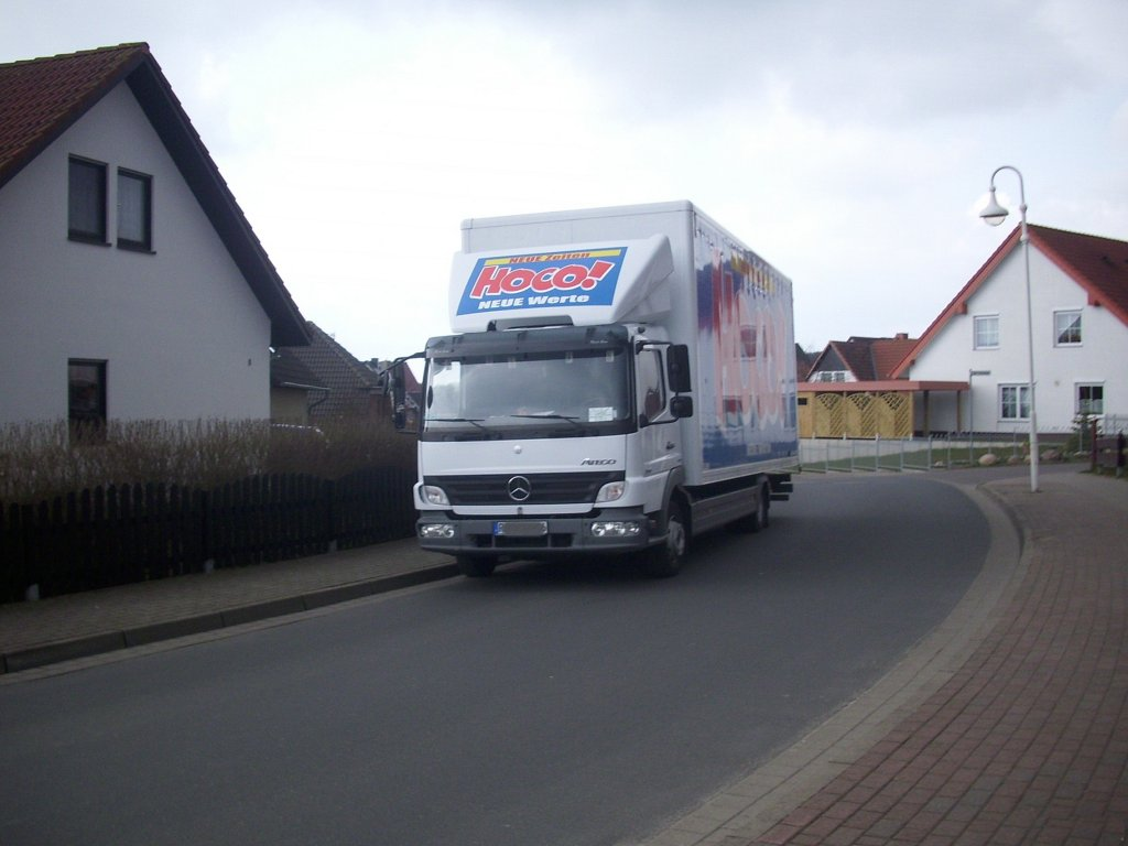 Mercedes-Benz Atego in Sassnitz.