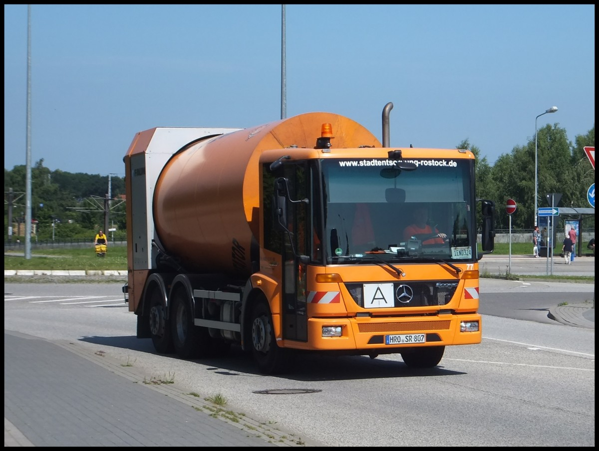 Mercedes econic in rostock for Mercedes benz route 17