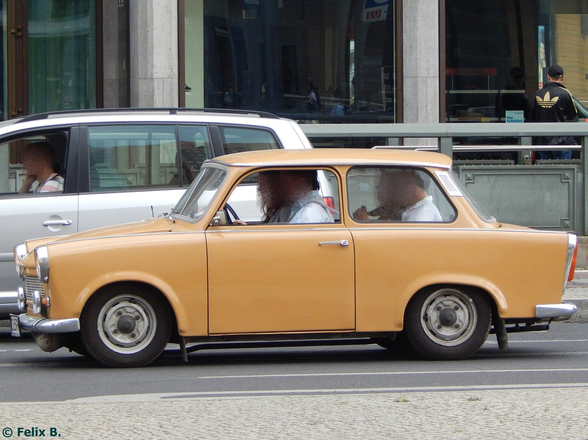 Trabant der Trabi-World in Berlin.