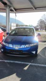 Honda Civic in Kufstein am 10.3.2012.