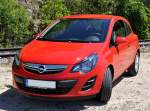 Opel Corsa in Westerstetten am 30.05.2014.