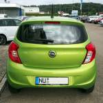 Opel Karl in Illertissen am 02.09.2015.