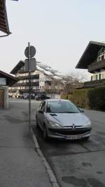 Peugeot 306 in Kitzbühel am 4.3.2012.