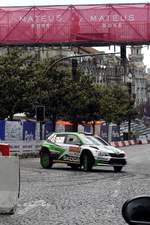 Skoda bei der Rally de Portugal in Porto am 18.05.2018.