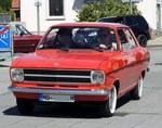 Opel Kadett in Vöhringen am 05.05.2016.