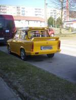 Trabant/187957/trabant-in-sassnitz Trabant in Sassnitz.