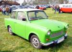 Wartburg Trabant in Autenried am 13.04.2014.