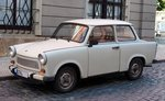 Trabant in Gotha am 08.08.2016.