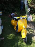 Vespa in Einsingen am 06.07.2014.