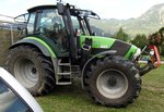 Traktor Deutz Fahr Serie 5 Agrotron 150 in Bad Hindelang am 10.09.2016.