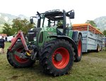 Traktor Fendt 718 in Bad Hindelang am 10.09.2016.