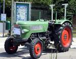 Traktor Fendt Farmer Typ FW 125 Baujahr 1963 in Illertissen-Au am 25.05.2017.